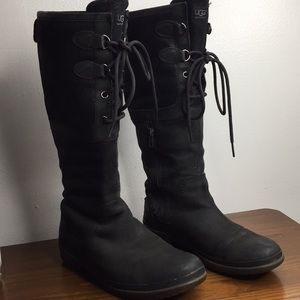 Ugg Knee High Waterproof Leather Winter Boots